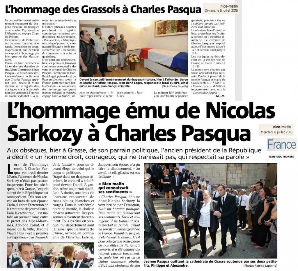 Articles Nice Matin Pasqua