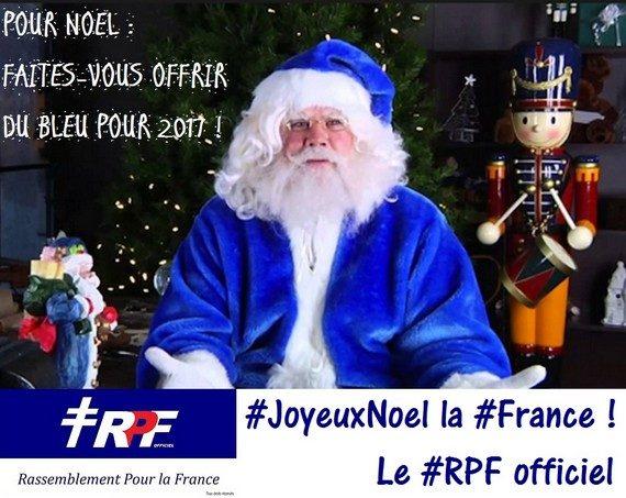 Le RPF officiel vous souhaite un Joyeux Noël