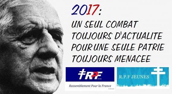 Le RPF Officiel vous souhaite une bonne année 2017